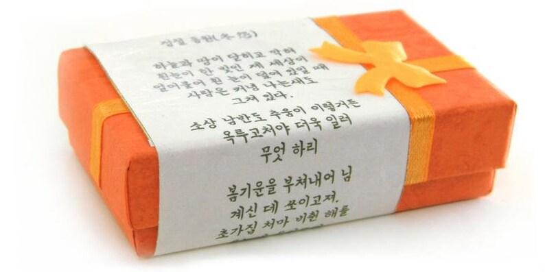 Origami bookmark Iris