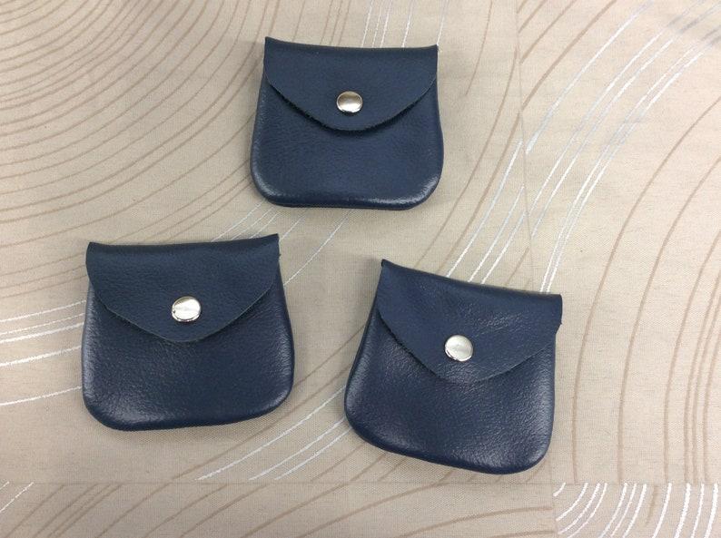 e24e87ef2 Small coin purse leather coin purse tiny coin purse ear bud | Etsy