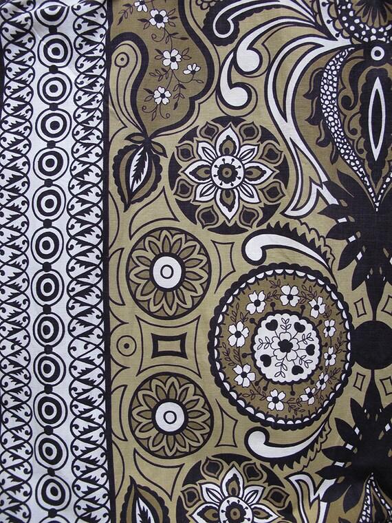 1950s tiki skirt • 50s  Polynesian novelty print … - image 5