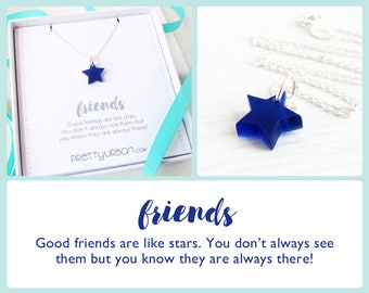 Items similar to Friendship Quotes – Friendship Necklace ...
