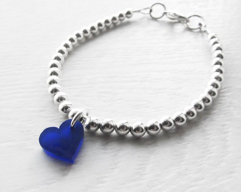 Silver Ball Bracelet  Silver Bracelet  Mothers Day Ideas  image 0