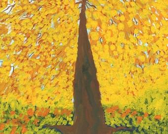 Original painting: Autumn Tree 2