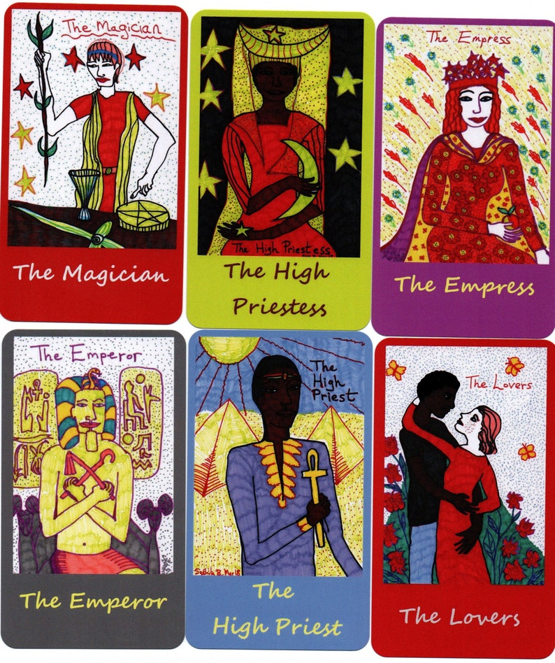 Younger Self Tarot: classic-size deck made to order choice image 0