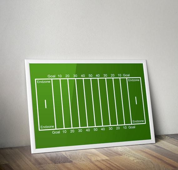 photo regarding Football Field Printable referred to as Soccer industry print, boys place, nursery print, Printable video game poster, kid area decor, soccer artwork, electronic print