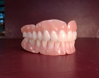 Custom denture impression kit etsy extra wax try in x2 solutioingenieria Image collections