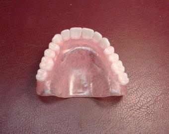 Upper ultra thin full denture