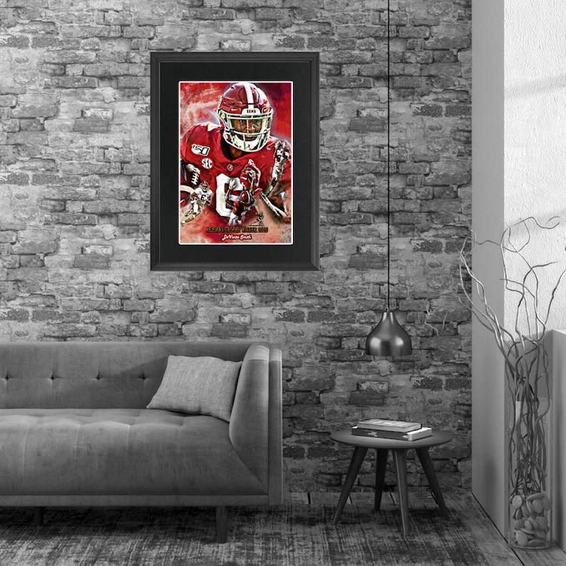 Heisman Trophy Winner 2020 DeVonta Smith Alabama Crimson Football.