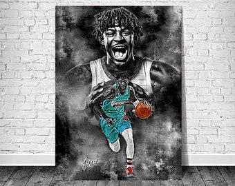 Ja Morant, Memphis Grizzlies, NBA.