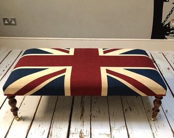 union jack furniture. Large Winston Union Jack Coffee Table Footstool Union Jack Furniture