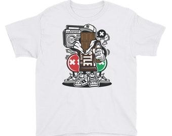 Chocolate Squad Candy Crunch Fun Hip Youth Short Sleeve T-Shirt