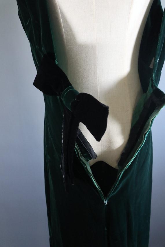 SALE | Emerald Green 1970s Dress | 70s dress 1970… - image 9