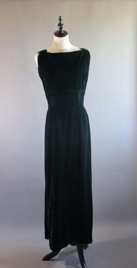 SALE | Emerald Green 1970s Dress | 70s dress 1970… - image 2