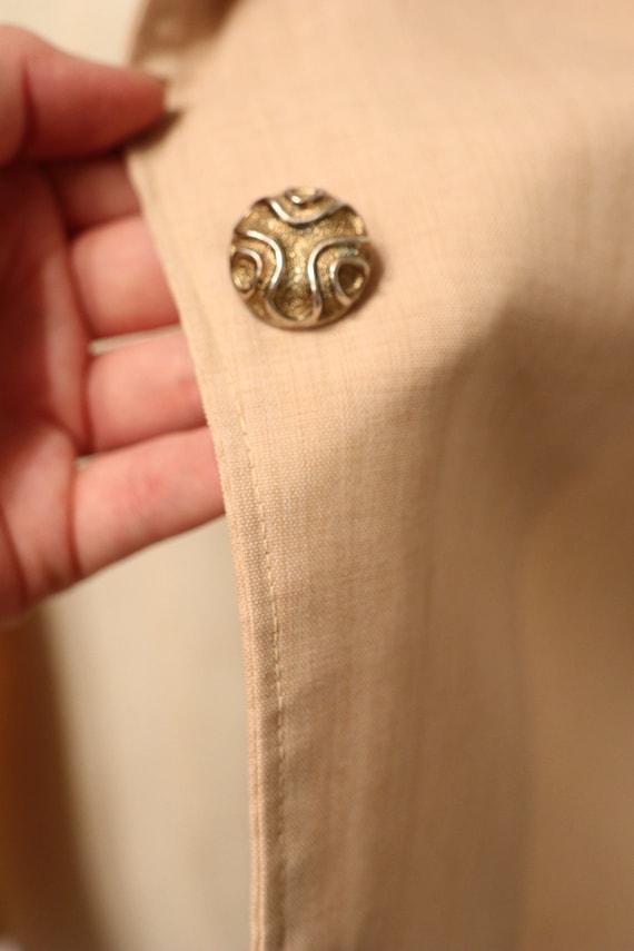 SALE | 1940s Vintage Button Up Blouse | gorgeous … - image 7