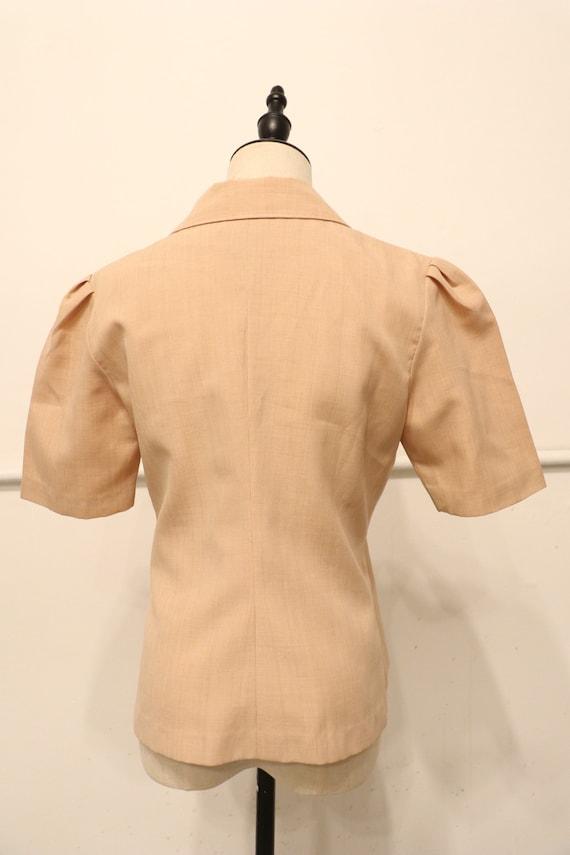 SALE | 1940s Vintage Button Up Blouse | gorgeous … - image 4