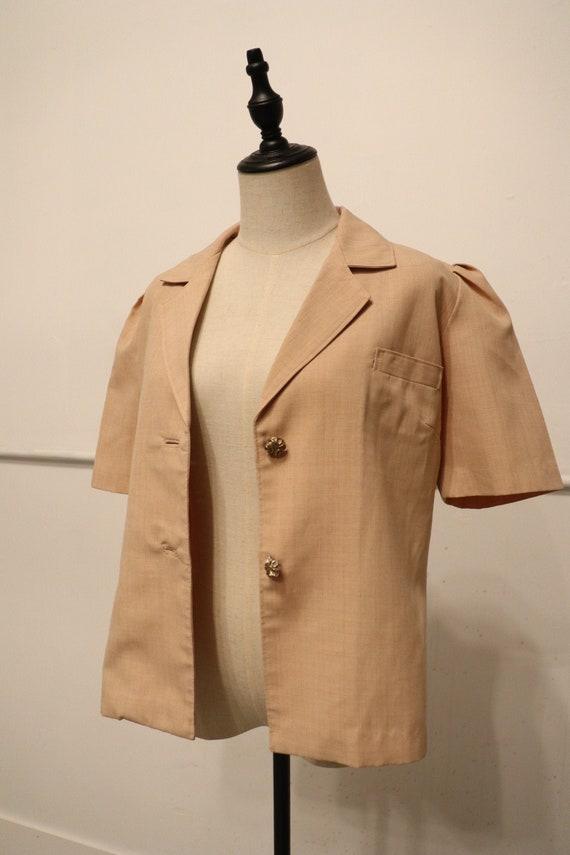 SALE | 1940s Vintage Button Up Blouse | gorgeous … - image 2