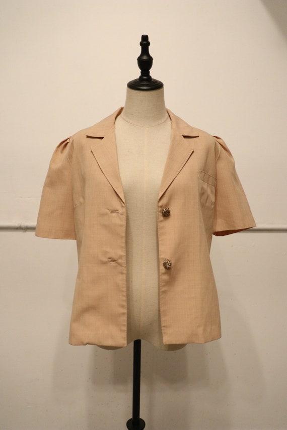 SALE | 1940s Vintage Button Up Blouse | gorgeous … - image 3