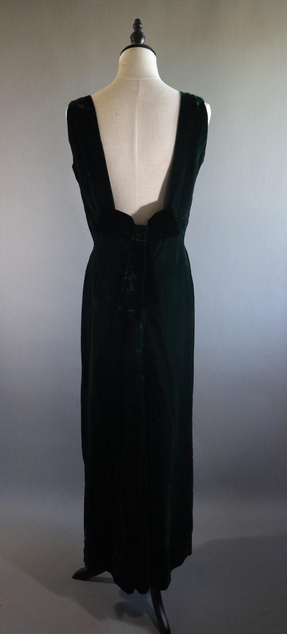 SALE | Emerald Green 1970s Dress | 70s dress 1970… - image 6