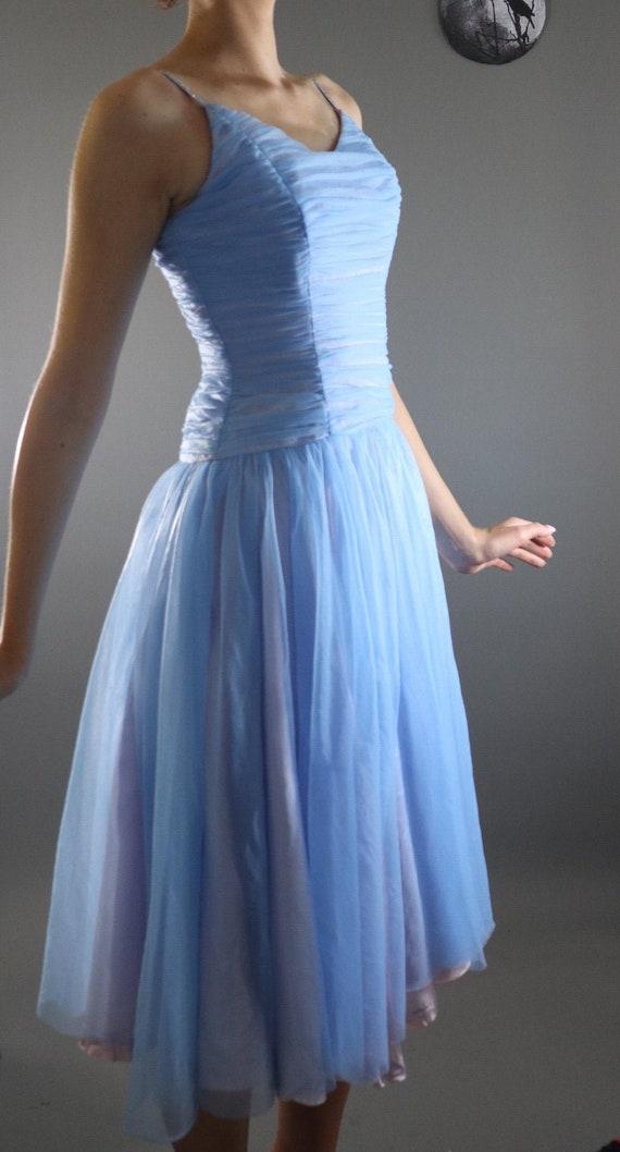 SALE | 1950s Rhinestone Dress | pinup dress 50s dr