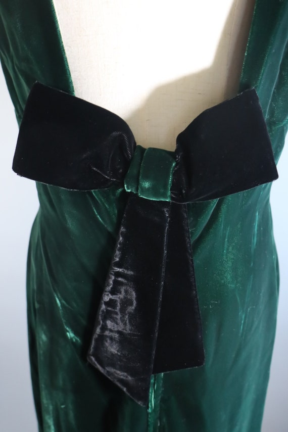 SALE | Emerald Green 1970s Dress | 70s dress 1970… - image 8