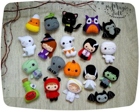 Halloween adornos halloween lindo adorno fieltro halloween - Adornos de halloween ...