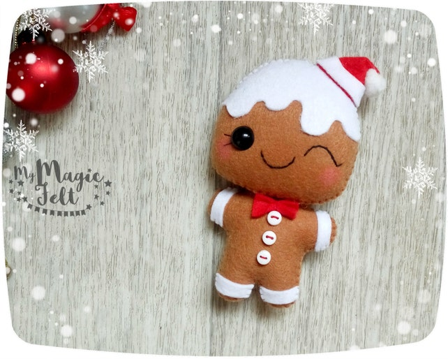 image 0 - Gingerbread Man Christmas Decorations