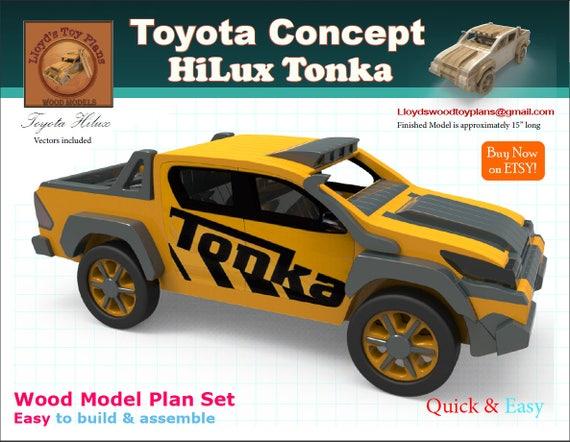 Toyotas Hilux Tonka Etsy