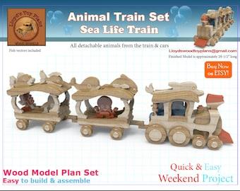 Sea Life Train