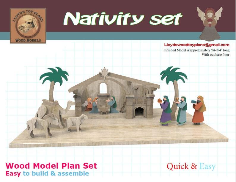 Nativity set II image 0