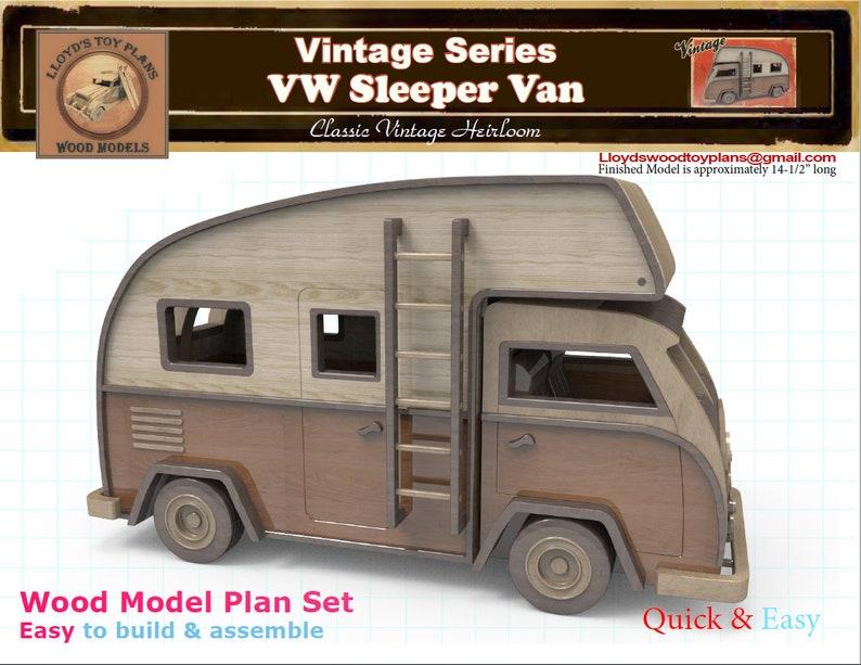 VW Sleeper Van image 0