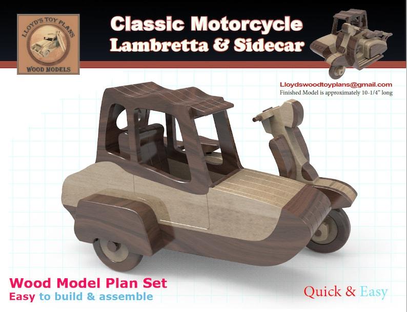 Lambretta and sidecar image 0