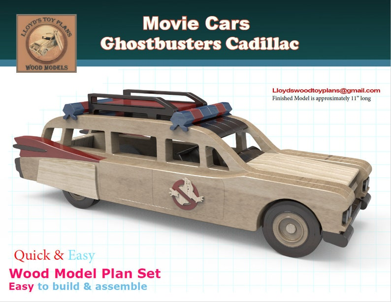 Ghostbusters Cadillac image 0