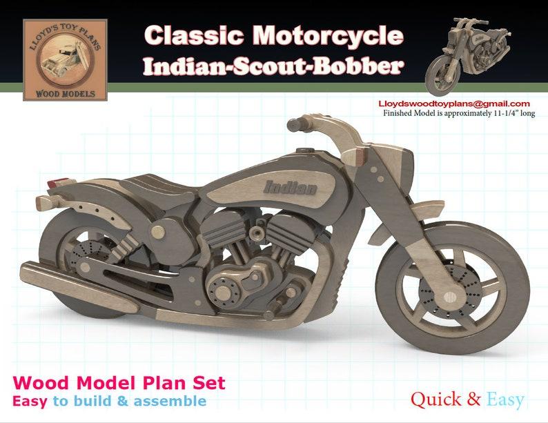 Indian Scout Bobber image 0