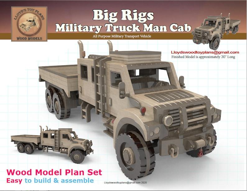 Military Truck Man Cab image 0