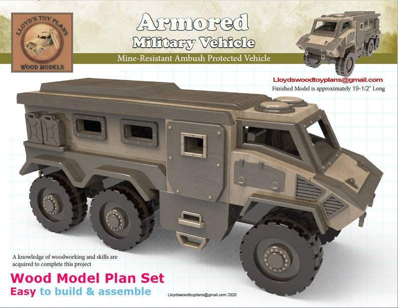 Military Armored Vehicle image 0