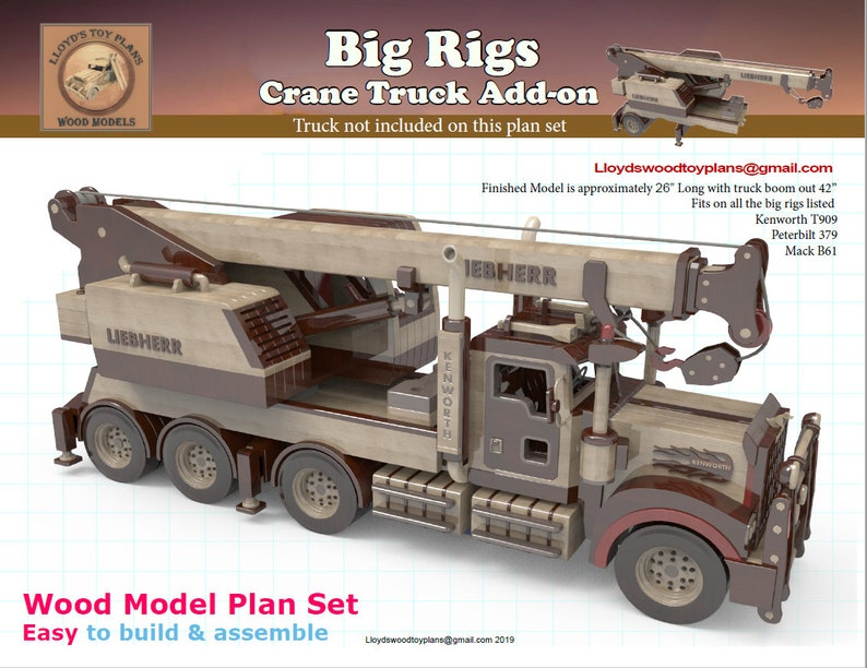 Crane truck add-on for the Big rigs image 0