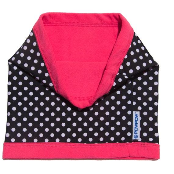 6 IN 1 Fleece Adjustable Winter Neck Warmer Snood Scarf Unisex Youth/'s Xmas Gift