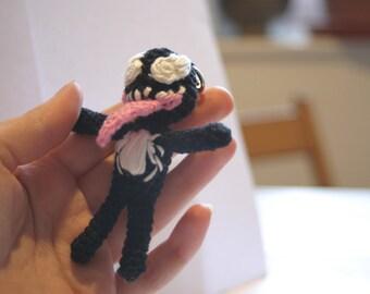 Venom amigurumi!!! 💪😎 Modelo de... - La aguja creativa de Laura ... | 270x340