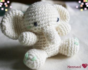 Elefant amigurumi plushie