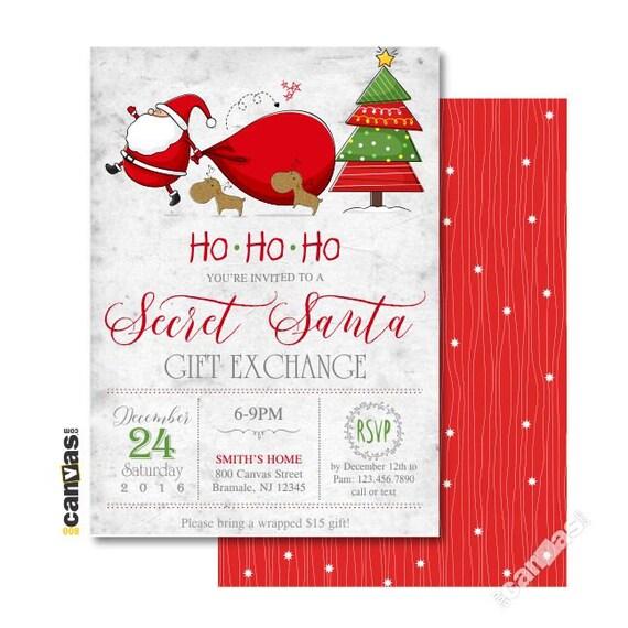 Santa Invitation Kalde Bwong Co