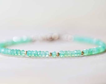 Pyrite Jewelry Sterling Silver or Rose Gold Fill Skinny Pyrite Beaded Stacking Bracelet Delicate Pyrite Bracelet with Zambian Emerald