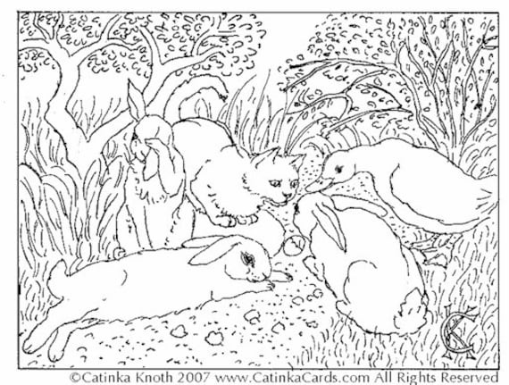 Coloring Pages Little Cute Duckling Hatched Stock Vector (Royalty ... | 431x570