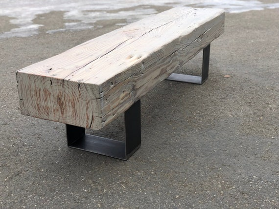 Tremendous Reclaimed Grey Washed Beam Bench Timber Bench Rustic Bench Coffee Table Refined Industrial Industrial Chic Montana Barn Wood Bench Ibusinesslaw Wood Chair Design Ideas Ibusinesslaworg