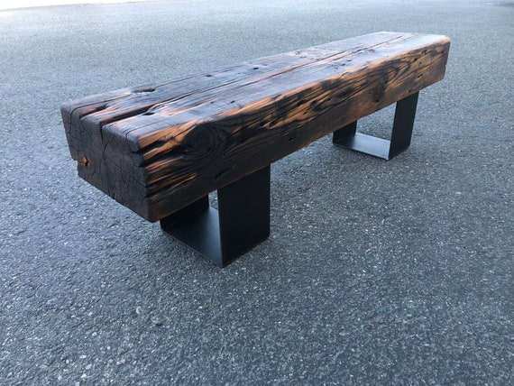 Tremendous Reclaimed Montana Bridge Beam Bench Timber Bench Rustic Bench Coffee Table Refined Industrial Industrial Chic Montana Barn Wood Bench Ibusinesslaw Wood Chair Design Ideas Ibusinesslaworg