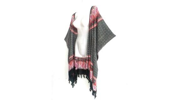4X 5X /& 6X Rayon Batik plus size clothing Kimono 2X 1X 3X Duster Boho Women Vintage Beach Shawl Cardigan Tops Jacket Blouse  XL