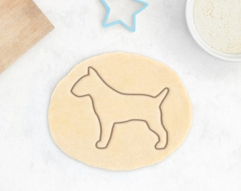 Bull Terrier Cookie Cutter - Personalized BullTerrier Cookie Cutter Bull Terrier Gift
