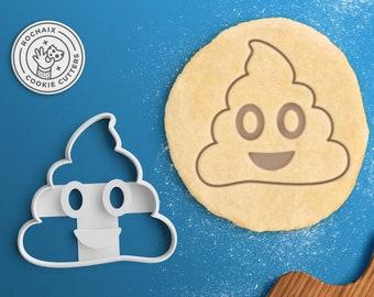 Poop Emoji Cookie Cutter – Emoji Gift Emoji Birthday Cookie Cutter Emoji Valentines Day Cookies Kiss Emoji Party Heart Emoji Love Emoji