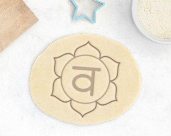 Chakra Cookie Cutter Set \u2013 Yoga Cookie Cutter Yoga Instructor Gift Meditation Gift Vishuddha