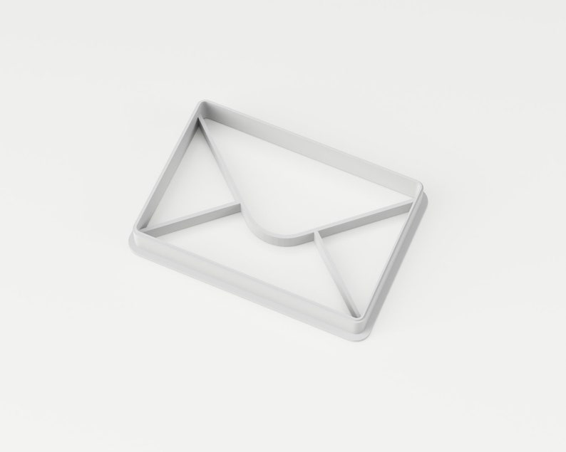 Envelope Cookie Cutter Mail Cookie Cutter Mailbox Cookie