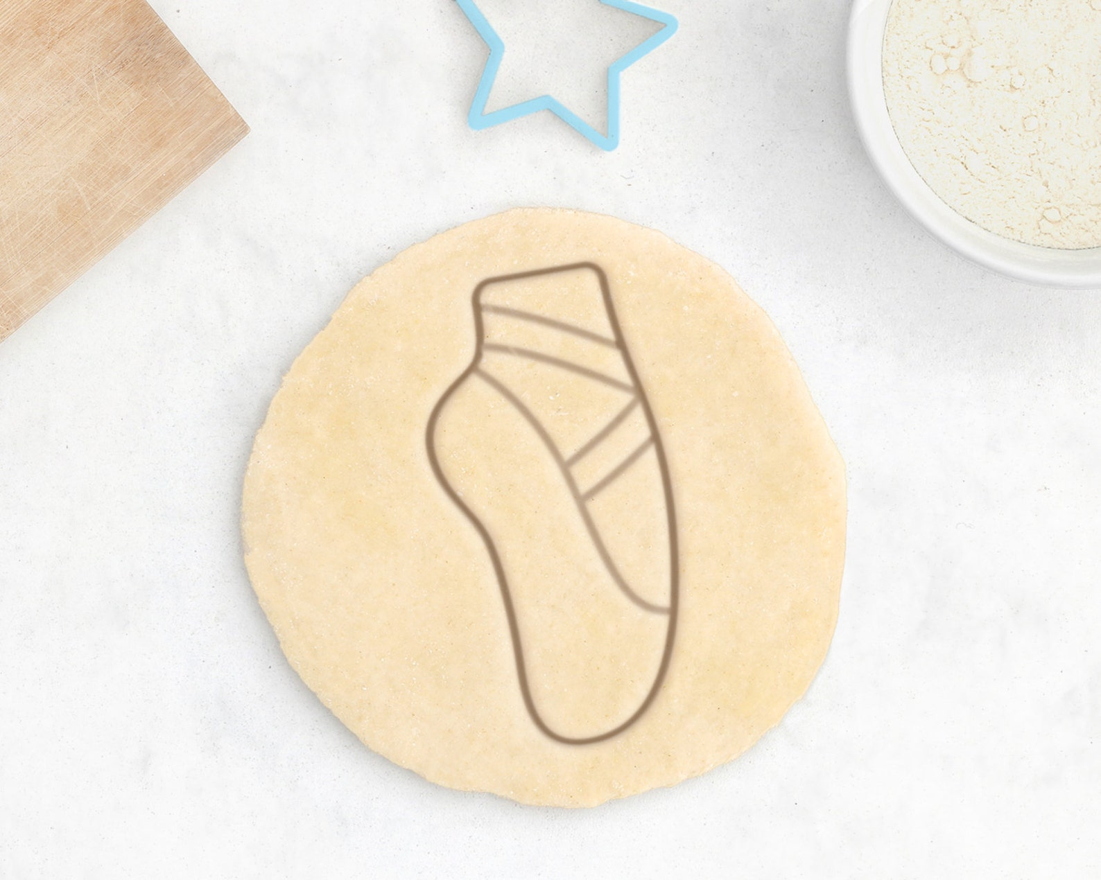 ballet slipper cookie cutter – ballerina cookie cutter ballet gift tutu ballet cookie cutter cookies fairy princess cookie cutte