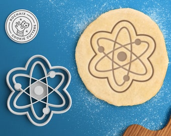 Atom Cookie Cutter – Science Cookie Cutter Chemistry Gift